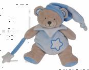 Pantin ours bleu