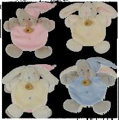 Câlin - doudou ourson et lapin