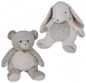 Flocon - pantin GM ours et lapin