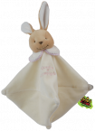 Doudou �ponge le lapin rose Tatoo