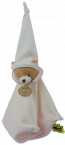 Doudou �ponge l'ours rose Tatoo