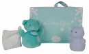 Coffret veilleuse + doudou bleu