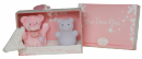 Coffret veilleuse + doudou rose